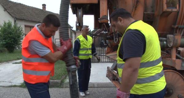 Kontinuirano čišćenje slivnika i kolektora