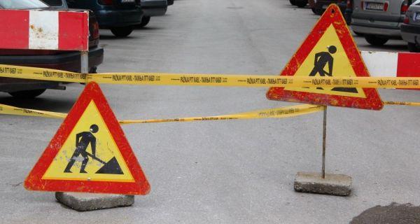 Zatvaranje gradskih ulica  zbog rekonstrukcije kolovoza
