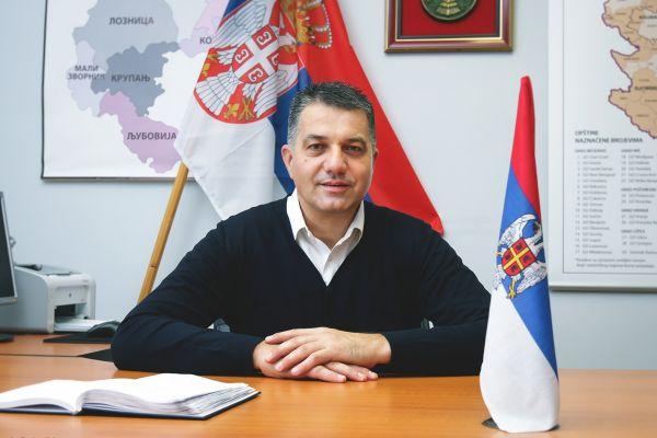 Čestitka načelnika Vladana Krasavca povodom 1.marta  Svetskog dana civilne zaštite
