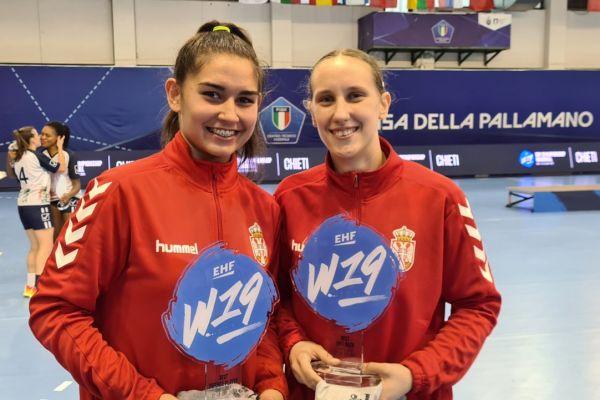 Србија трећа на крају Европског шампионата, појединачно признање у Шапцу