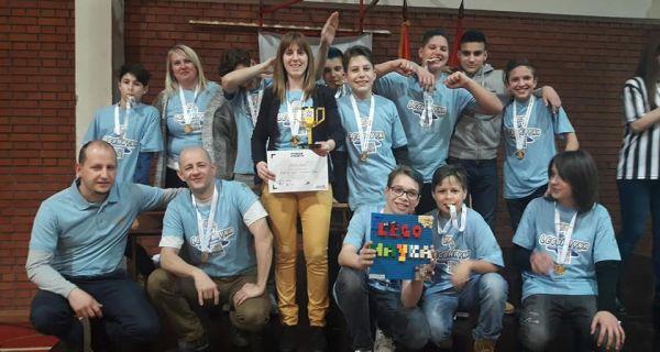 Поновљен успех на турниру роботике
