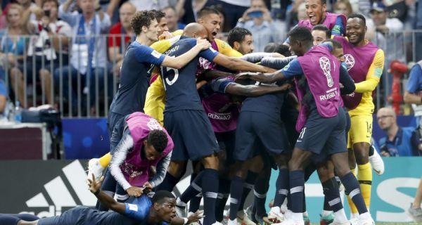 Француска је првак света