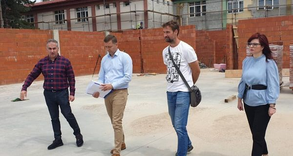 Gradonačelnik Šapca obišao radove na rekonstrukciji OŠ Majur