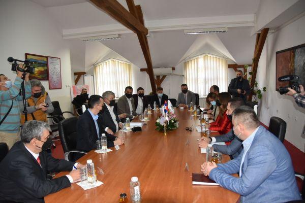 Saopštenje načelnika MUO: Poseta ministarke trgovine, turizma i telekomunikacija Malom Zvorniku i Ljuboviji