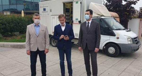 U Šapcu danas postavljena prva mobilna merna stanica za merenje kvaliteta vazduha