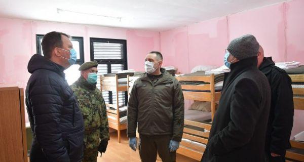 Vulin: 642 vojnika u samoizolaciji zbog korona virusa