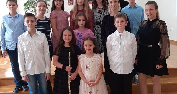 Nova priznanja za Muzičku školu