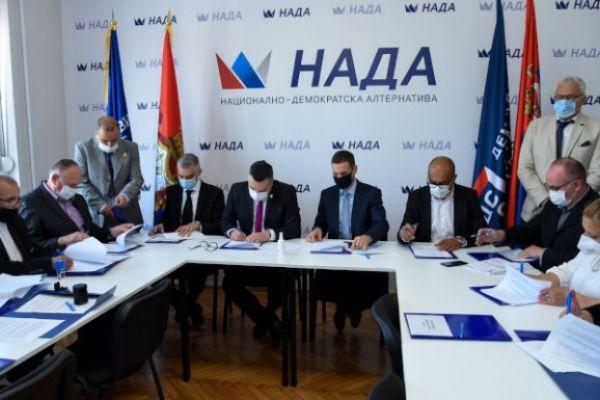 ПОКС и ДСС формирали коалицију НАДА за будуће изборе