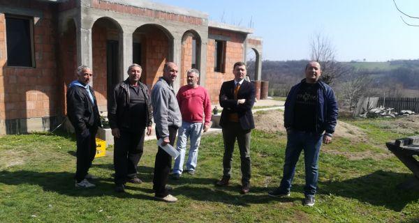 Гадоначелник Небојша Зеленовић посетио Накучане