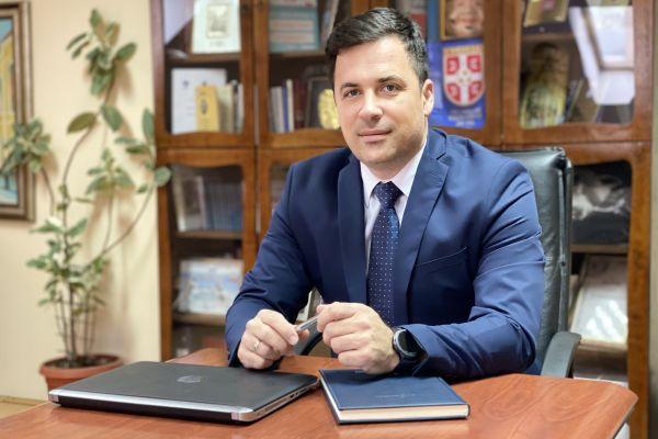Васкршња честитка председника Скупштине града Шапца Немање Пајића