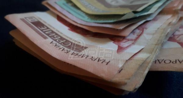 Дефицит буџета Србије за осам месеци 344,6 милијарди динара