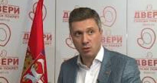 Обрадовић (Двери): Вешала су провокација СНС да би се скренула пажња јавности