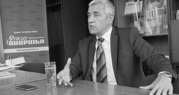 Последњи интервју за писане медије Оливер Ивановић дао Гласу Подриња 2. новембра 2017.