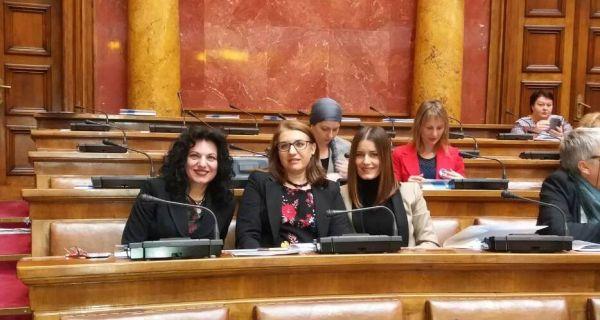 Представнице шабачке Скупштине на Националној конференцији женске парламентарне мреже