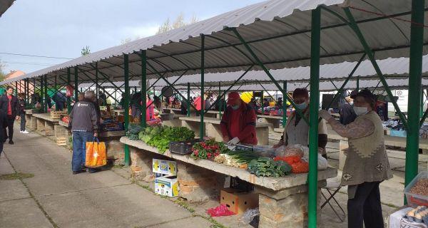 Povrće i voće ponovo na tezgama zelene pijace