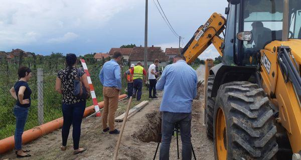 Kanalizaciona mreža u Popovači