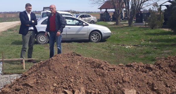 Градња капеле на Новом гробљу
