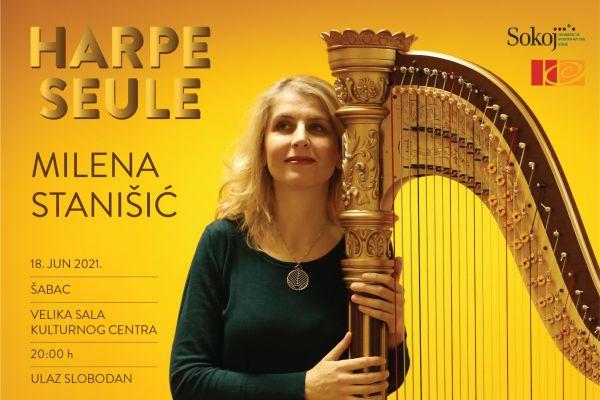 Koncert profesorke dr Milene Stanišić u Kulturnom centru