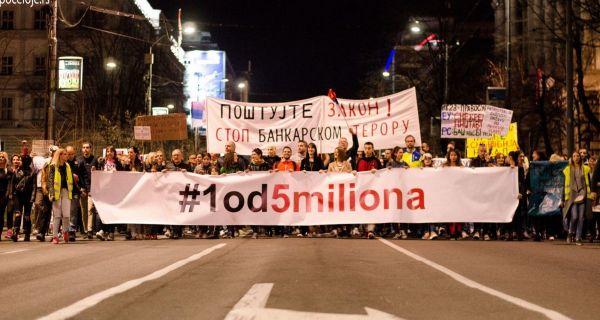 Београд - Нови протест