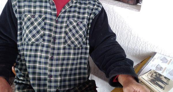Тобџија у дугом капуту
