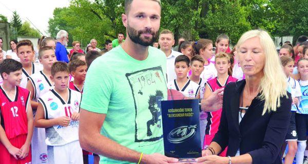 Košarkaški teren Aleksandar Rašić