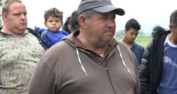 Protest Roma u Mačvanskom prnjavoru