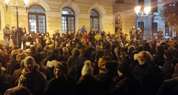 Протест и у Крагујевцу