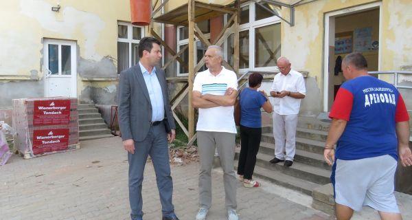 Реконструкција школе  у Дреновцу