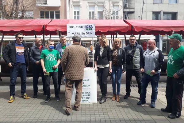 Prikupljanje potpisa protiv otvaranja rudnika litijuma kompanije Rio Tinto