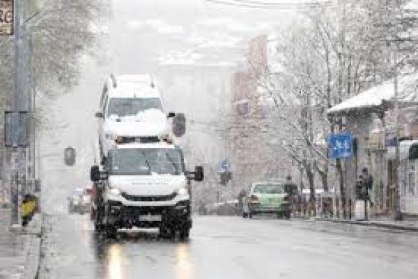 AMSS: Poledica na putevima poziva na oprez