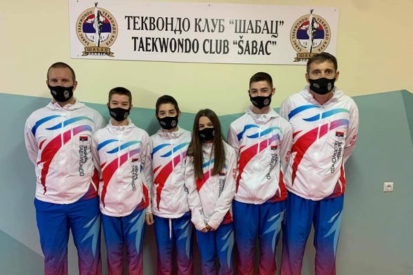 """Tekvondisti """"Šapca"""" u Zagrebu"""