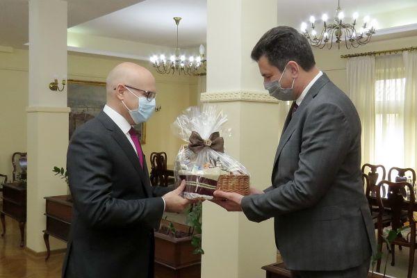 Gradonačelnik Novog Sada Miloš Vučević posetio Šabac