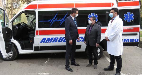 Најсавременије санитетско  возило стигло у Шабац