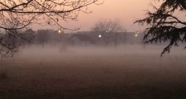 Vetar rasteruje maglu u Srbiji