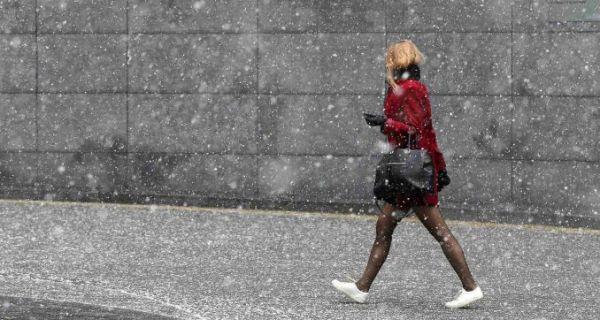 Данас местимично киша и снег