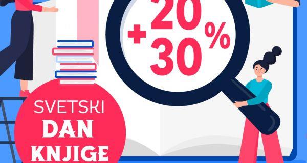 На Светски дан књиге сва издања Вулкан издаваштва на попусту од 20% + 30%
