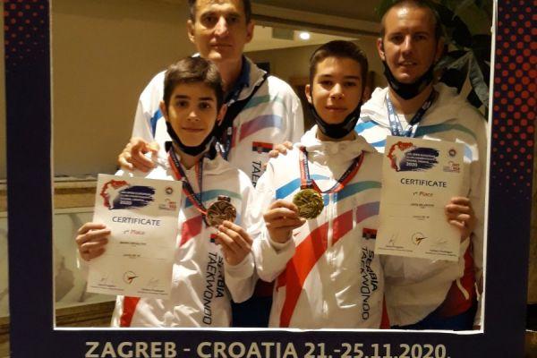 Četiri medalje za Šapčane