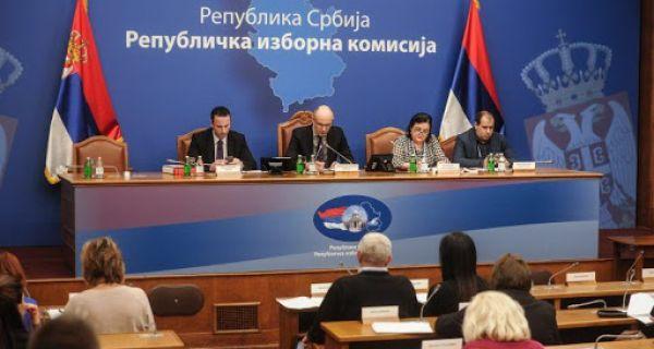РИК донео решење о наставку изборних радњи