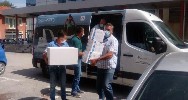 NALED: Počela isporuka zaštitne opreme za socijalne radnike u 15 gradova i opština