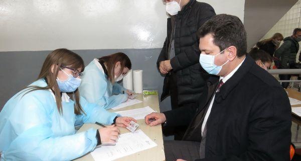 Počela vakcinacija  građana u Šapcu