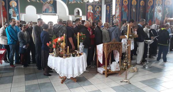 Čudesno sabranje u hramu Svetog Vasilija Ostroškog