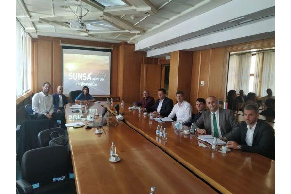 Sastanak rukovodstva Opštine Vladimirci sa investitorima iz Izraela