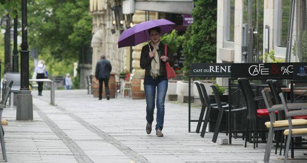 У Србији данас релативно топло време, понегде са кишом