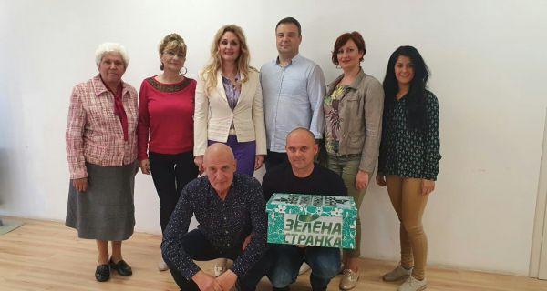 Zelena stranka-Šabac predala listu: Šapčani imaju snage za promene