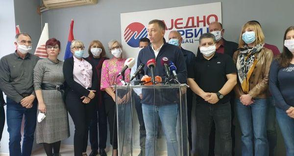 Зеленовић: Захтевам понављање избора у Шапцу