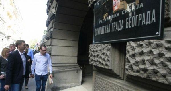 Zelenović i Bastać zatražili informacije od Radojičića o radovima na Trgu Republike