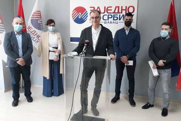 Danas održana konferencija Zajedno za Srbiju Šabac